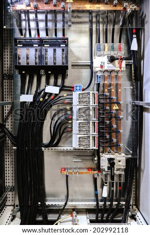 Electrical Panel Fuses Contactors Stock Photo 202992118 - Shutterstock