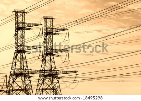 Electrical power mast