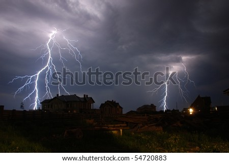 electricity - stock photo