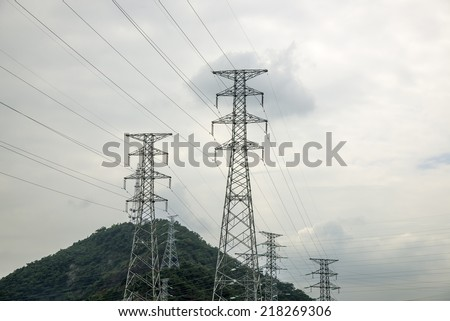 Electricity tower look