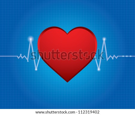 electrocardiogram with special design