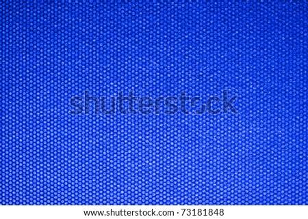 Electronic Blue LED Background - stock photo