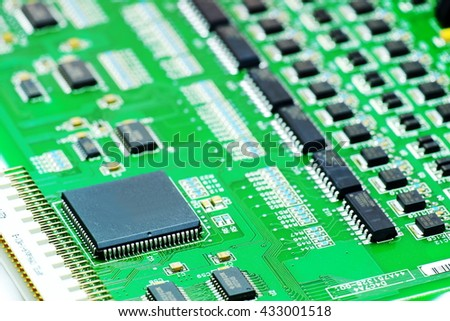 electronic printed circuit board many electrical stock photo edit rh shutterstock com Electrical Circuit Board Components Electrical Circuit Board Components Sound