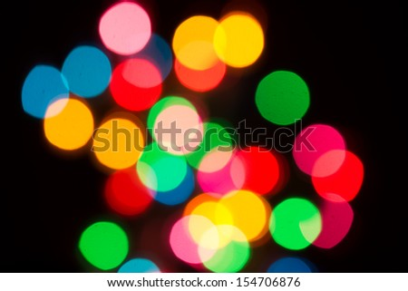 Elegant abstract garland background