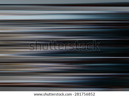 Elegant abstract horizontal background with colorful lines. Illustration
