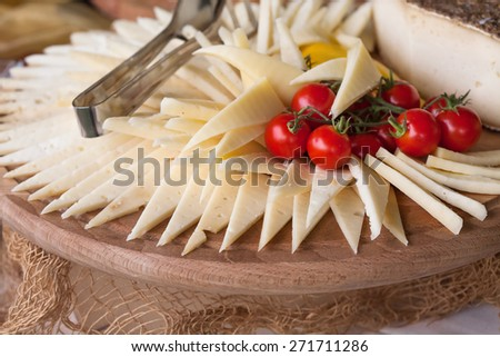 elegant Appetizers - stock photo