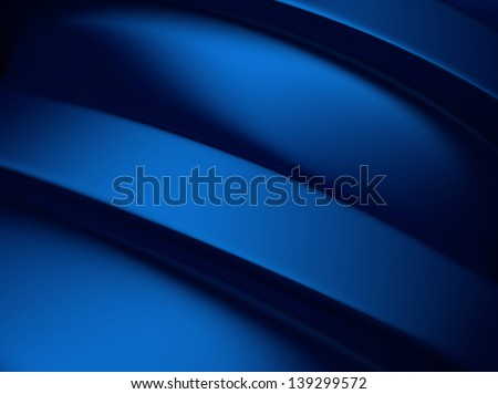 Elegant blue metallic background with two bars and space for text - stock photo