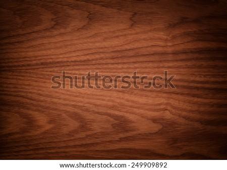 elegant brown wooden texture. - stock photo