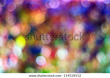 Elegant Christmas rainbow background - stock photo