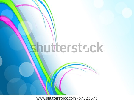Elegant colorful background. Vector version available in my gallery. - stock photo