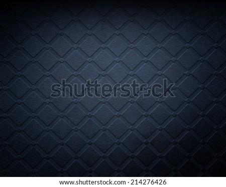 elegant dark grunge wallpaper for background. - stock photo