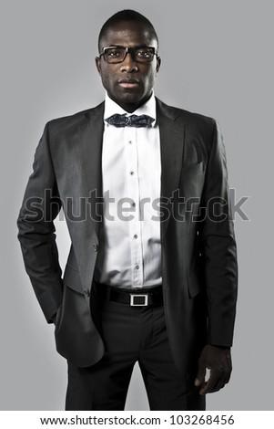 Elegant man or businessman - stock photo