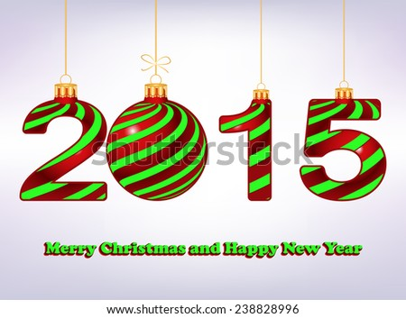 elegant New Year 2015  background