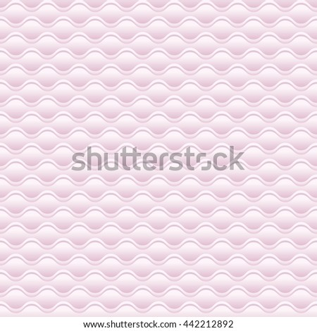 elegant pale rose 3d geometric pattern  - stock photo