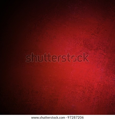 Elegant red and black background with stripe layout design and dramatic artistic lighting and vintage grunge texture - stock photo