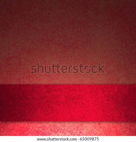 elegant rich royal red background with copy space graphic art design - stock photo
