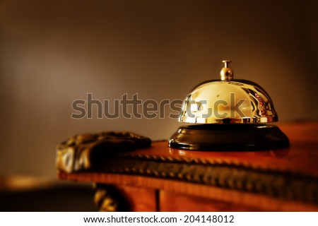 Elegant Ring Bell - stock photo