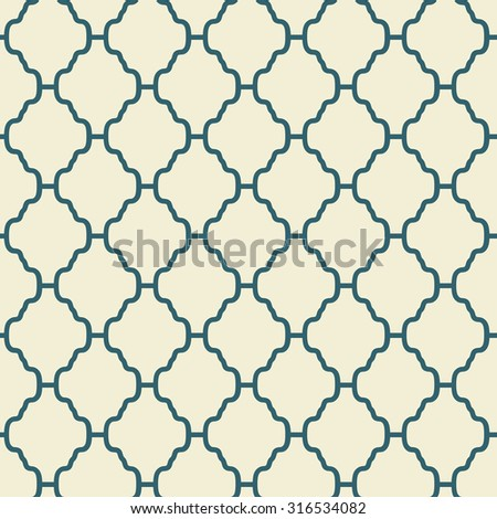 Elegant  seamless pattern. Retro blue and white colors. Endless texture can be used for printing onto fabric and paper, scrap booking. Abstract pretty chic background - stock photo