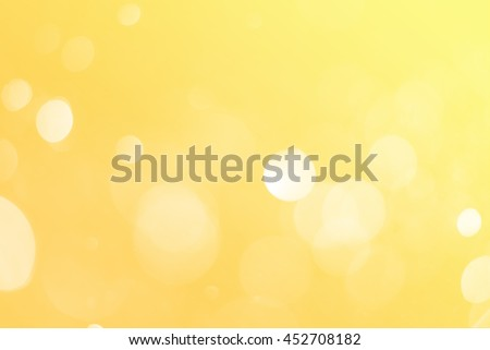 elegant soft gold bokeh light, abstract yellow background, use for business presentation background or desktop wallpaper