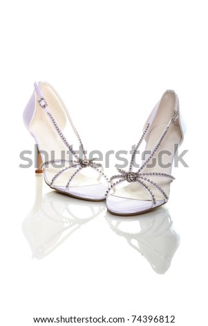 elegant wedding shoes bridal shoes stock images royalty free images amp vectors 3869