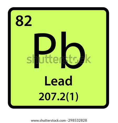 Element lead periodic table stock illustration 298532828 shutterstock element lead of the periodic table urtaz Image collections
