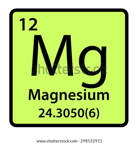 Element magnesium periodic table stock illustration 298532915 element magnesium of the periodic table urtaz