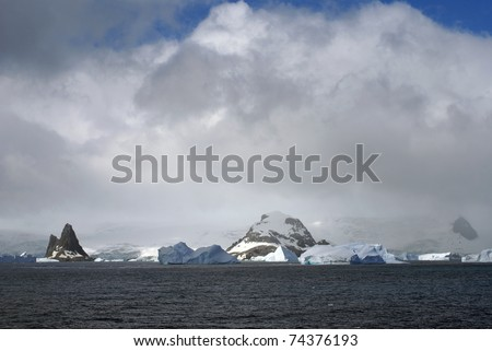 Elephant Island (South Shetland Islands) in the Southern Ocean. With Point Wild, location of Sir Ernest Shackleton amazing survival story..