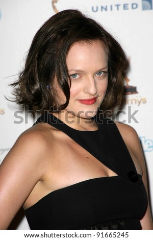 Elisabeth Moss at the 63rd Primetime Emmy Awards Performers Nominee Reception, Pacific Design Center,  Los Angeles, CA 09-16-11 - stock photo