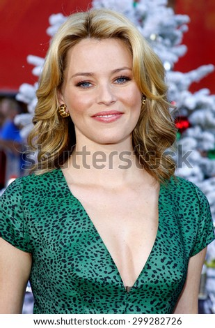 Elizabeth Banks at the Los Angeles premiere of 'Fred Clause' held at the Grauman's Chinese Theater in Hollywood on November 3, 2007.