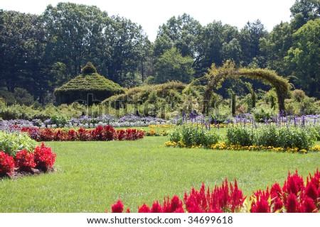 Elizabeth Park, West Hartford, Connecticut - stock photo