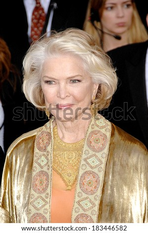 Ellen Burstyn at ARRIVALS - 44th Annual Screen Actors Guild Awards, SAG,, The Shrine Auditorium & Exposition Center, Los Angeles, CA, January 27, 2008  - stock photo