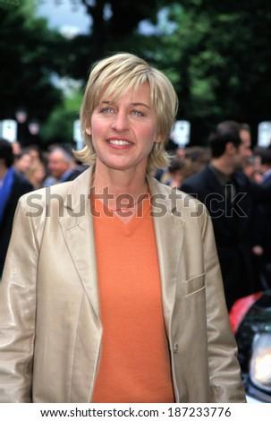 Ellen DeGeneres at CBS Upfront, NY 5/16/2001 - stock photo