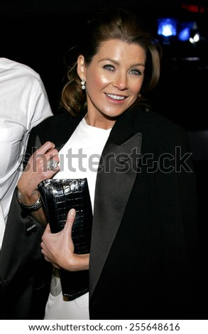 Ellen Pompeo attends the 2007 Paramount Pictures Golden Globe Award After-Party held at the Beverly Hilton Hotel in Beverly Hills, California, on January 15, 2007.