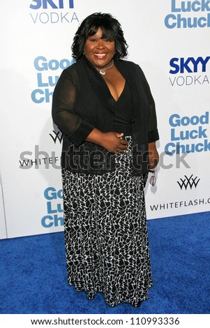 """Ellia English at the Los Angeles Premiere of """"Good Luck Chuck"""". Mann National Theater, Westwood, CA. 09-19-07 - stock photo"""