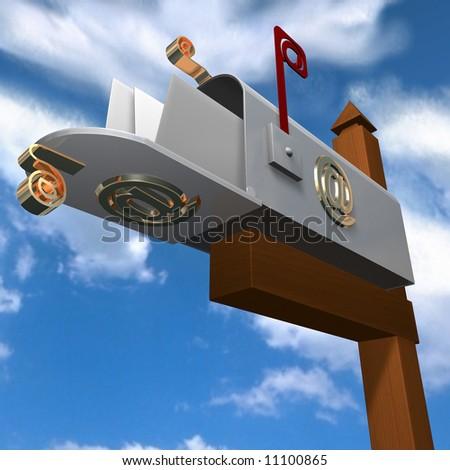 email Box - stock photo