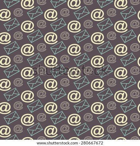 Email.  Wallpaper background. Seamless Pattern. Email marketing, email phone, email abstract, email background, email pattern for Your Design. Communication concept. Communication abstract - stock photo