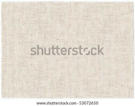 embroidery canvas clean white - stock photo