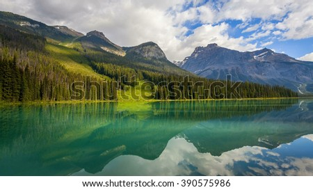 Emerald Lake in Canada's Yoho National Park