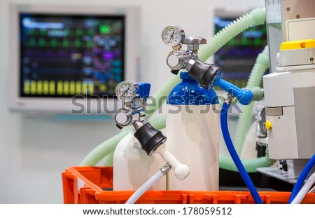 emergency equipment  - stock photo