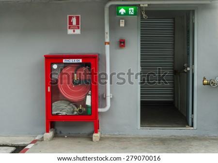 Emergency Fire  - stock photo