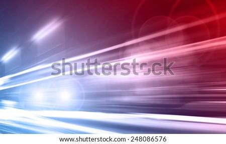 Emergency vehicle - stock photo