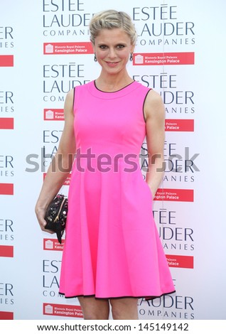 Emilia Fox arriving for the launch party for the Fashion Rules exhibition, Kensington Palace, London. 04/07/2013 - stock photo