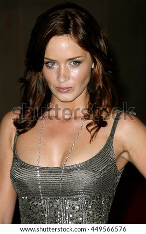 Emily Blunt at the Women In Film Presents The 2007 Crystal and Lucy Awards held at the Beverly Hilton Hotel in Beverly Hills, USA on June 14, 2007.