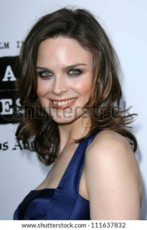 Emily Deschanel at the Los Angeles Film Festival 2007 Spirit Of Independence Awards. Billy Wilder Theatre, Westwood, CA. 06-28-07