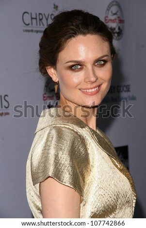 Emily Deschanel  at the 7th Annual Chrysalis Butterfly Ball. Private Residence, Los Angeles, CA. 05-31-08