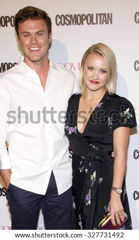 Emily Osment at the Cosmopolitan's 50th Birthday Celebration held at the Ysabel in West Hollywood, USA on October 12, 2015.