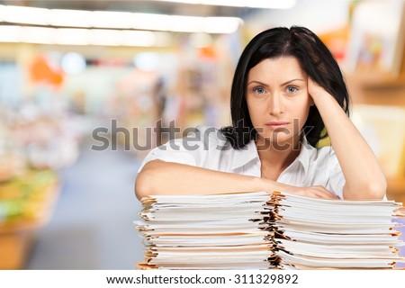 Emotional Stress. - stock photo