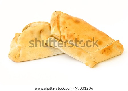 empanada chilena - stock photo