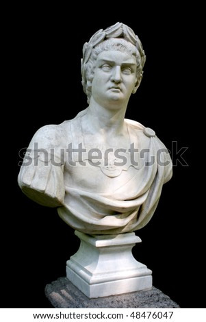 Emperor Neron - stock photo