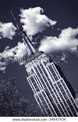 Empire State Building, New York - stock photo